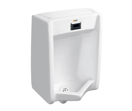 Urinal with Integrated EFS