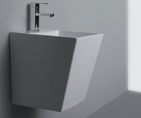 Integrated Half Pedestal Basin